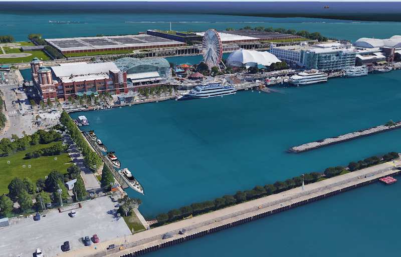 Long Beach Harbor Navy